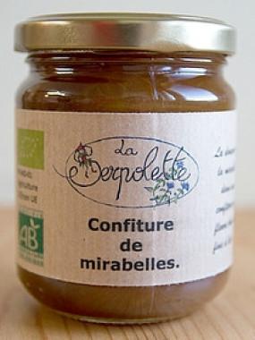 Confiture de Mirabelles  AB