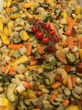 Poêlée de légumes glacés  (part)