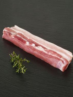 Poitrine de porc fraiche
